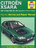 Citroen Xsara Service and Repair Manual (Haynes Service and Repair Manuals)