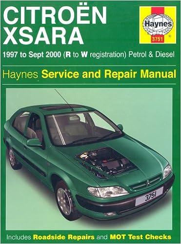 Citroen Xsara Service And Repair Manual Haynes Service And Repair Manuals Amazon De Mead John S Fremdsprachige Bucher