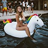 Unicorn Cup Holder Float Mini Inflatable Pool Drink Holder Floating Outdoor Swimming Bath Kiddie Toys Water Floating Coke Cup Drink Holder Flotation Devices Floats (4PCS)