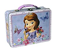 The Tin Box Company 627607-12 Sofia The First Carry All Tin- Assorted