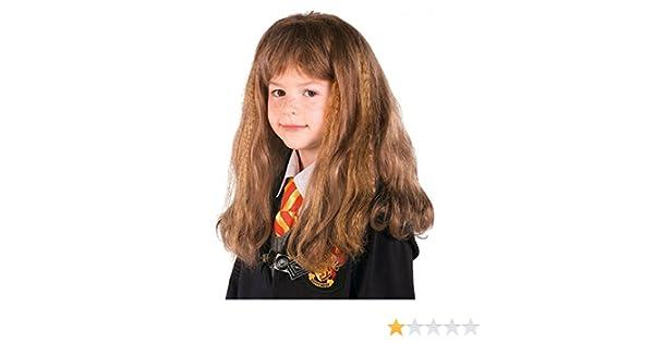 Hermione Granger peluca: Amazon.es: Juguetes y juegos