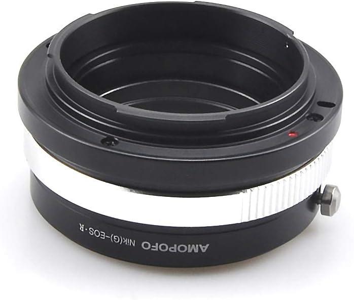 G Nikon G-EOS R Kamilu Lens Mount Adapter for Nikon G//S//D Lens to Canon EOS R//RP RF-Mount Mirrorless Camera NIK -EOS R