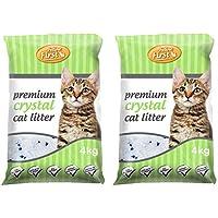 Feline First Premium Crystal Cat Litter 4 kg (2 Pack)