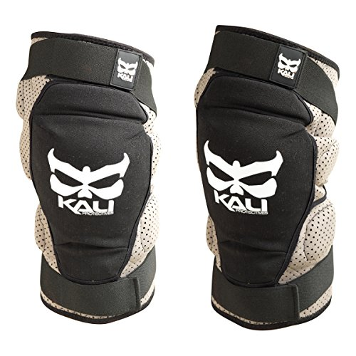 - Kali Protectives Aazis Soft Knee Guard (Black/Gray, Large)