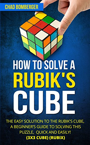 How Solve Rubiks Cube Beginners ebook product image