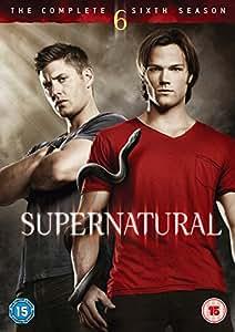 Supernatural: The Complete Sixth Season (5 Dvd) [Edizione: Regno Unito] [Reino Unido]