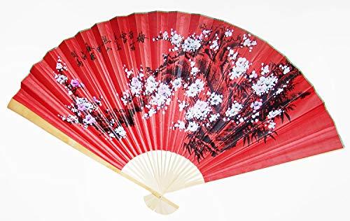 Needzo Oriental Folding Decorative Cherry Blossom Desig
