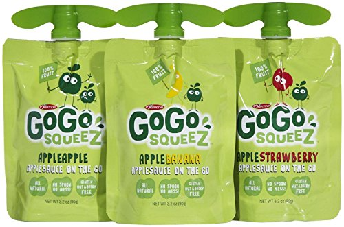 Materne GoGo Squeez Applesauce On The Go Variety Pack - 12 CT from GoGo SqueeZ