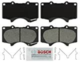Automotive : Bosch BSD976 Severe Duty Disc Brake Pad Set for Select Lexus GX460, GX470, Mitsubishi Montero, Toyota 4Runner, FJ Cruiser, Sequoia, Tacoma, Tundra - FRONT