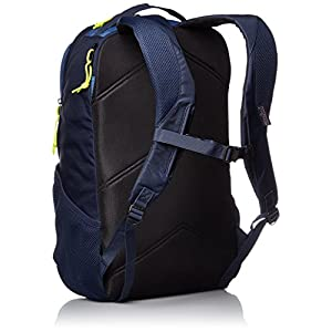 JanSport Mens Digital Carry Mainstream Beacon Backpack - Navy Moonshine/Lime