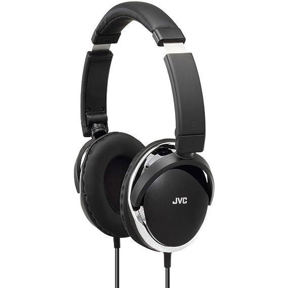 JVC Hochwertiger Over-Ear Kopfhörer mit Dynamischer Klangqualität Faltbar Kompakt Tragbar - Schwarz