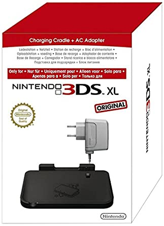 Cradle + Adapter - Nintendo 3ds Formato XL: Amazon.es ...