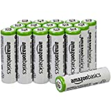 AmazonBasics AA Rechargeable Batteries (16-Pack) - Packaging May Vary