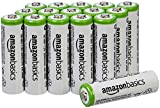 #2: AmazonBasics AA Rechargeable Batteries (16-Pack) - Packaging May Vary
