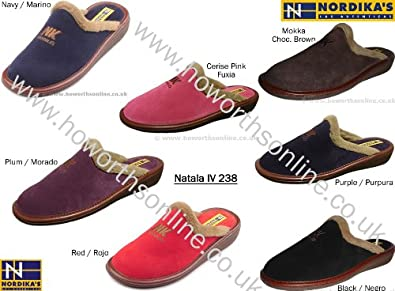 b9ec9b0b086 Nordika Natala 238 Premium Quality Mule Slippers - Rubi - 42  Amazon ...