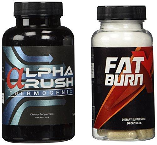 Alpha Rush et Burn Fat X Combo Pack