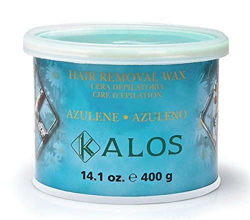Kalos Azulene Wax for Sensitive Areas, 14.1 Ounce