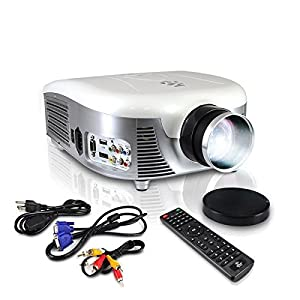 Pyle Video Projector Full HD 1080p Widescreen Cinema Home Theat