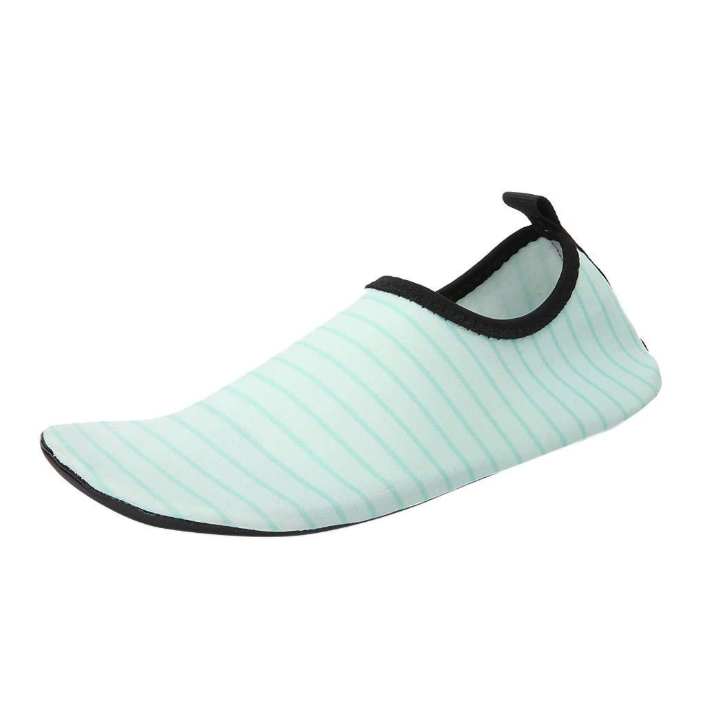 Men Women Aqua Shoes,Lover Summer Quick Drying Socks Yoga Water Shoes Outdoor Beach Swim Slip-Proof Diving Shoes