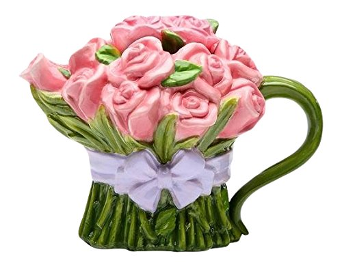 20808 Ceramic Bouquet Wrapped Lavender product image