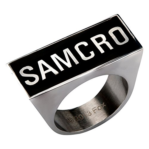 Sons Of Anarchy SAMCRO Logo Ring | 10 [Jewelry] ()