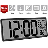 "Best Home-X Alarm Clocks - TXL 13.9"" Jumbo LCD Digital Alarm Clock Battery Review"