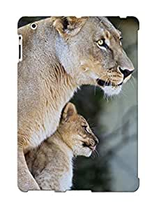 New Style Resignmjwj Hard Case Cover For Ipad 2/3/4- Animal Lion