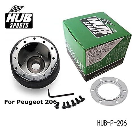Amazon.com: Racing Steering Wheel Hub Adapter Boss Kit for Peugeot 206 Universal HUB-P-206: Automotive