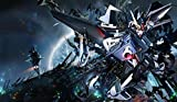 Gundam Wing Deathscythe PLAYMAT CUSTOM PLAY MAT ANIME PLAYMAT #198 by MT