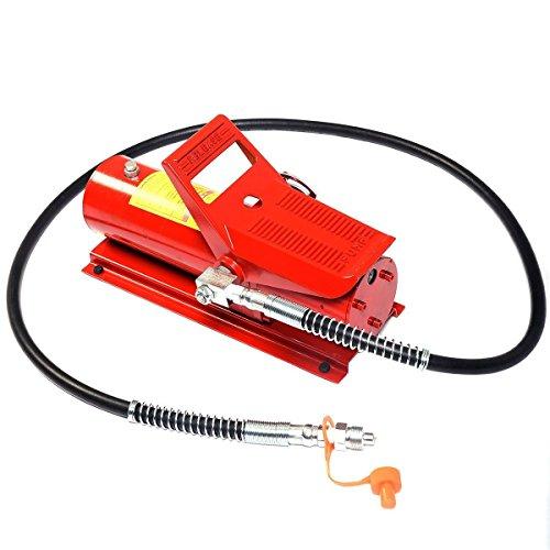 Pump Control Hydraulic (Goplus 10 Ton Porta Power Hydraulic Air Foot Pump Control Lift Replacement)