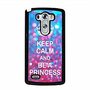 Keep Calm Princess Shades LG G3 Protective Cell Phone Cover Case - Fits LG G3