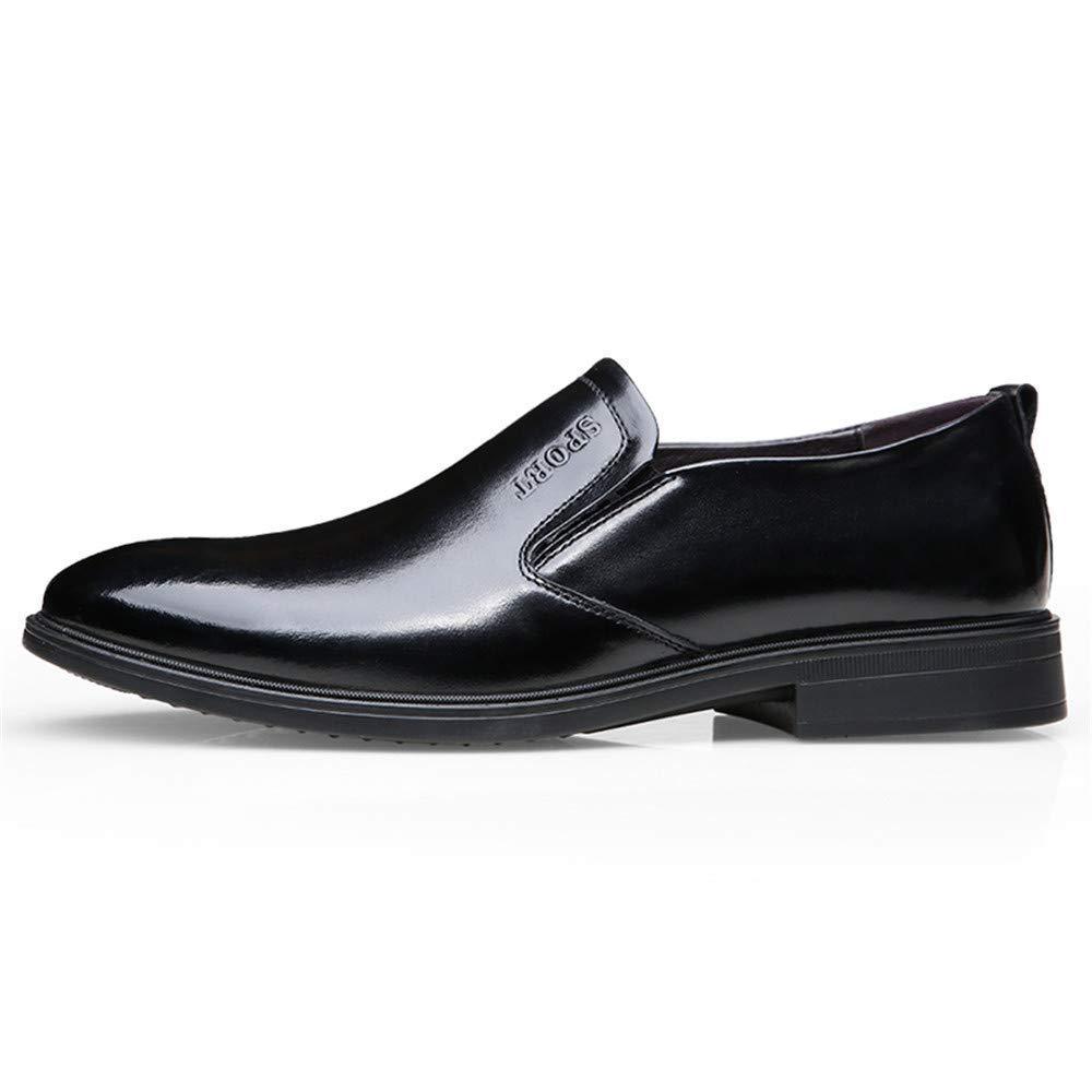 FuweiEncore 2018 Herren Business Oxford Casual Fashion Fashion Fashion Klassische Weiche Hochwertiger Leder Formelle Schuhe (Farbe   Schwarz, Größe   42 EU) (Farbe   Schwarz, Größe   44 EU) 773e85