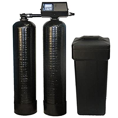 Fleck 9100 SXT Twin Tank Metered On-Demand 64, 000 Grains Per Tank Water Softener 24/7 Soft Water