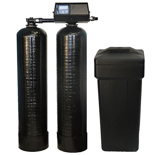 Fleck 9100 SXT Twin Tank Metered On-Demand 64,000 Grains Per Tank Water Softener 24/7 Soft Water by Pentair