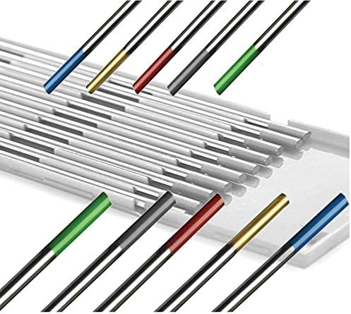"10x 3//32*7/""TIG Welding Tungsten Electrode Red Blue Green Purple Gold Gray White"