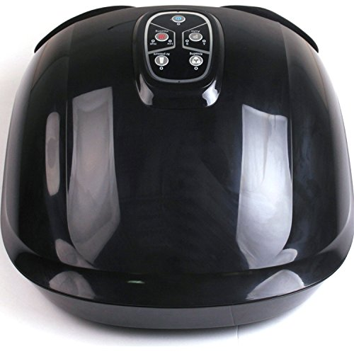 Luxorware Heated Kneading Shiatsu Foot Massager (Black)