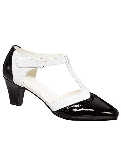 Saddle Shoes History Angel Steps Layla $27.99 AT vintagedancer.com