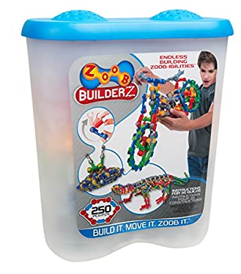 ZOOB BuilderZ 250 Piece Kit by Zoob
