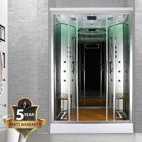 Cabina de ducha de vapor, de Insignia, modelo INS9005, de 1400 x 900 mm: Amazon.es: Bricolaje y herramientas