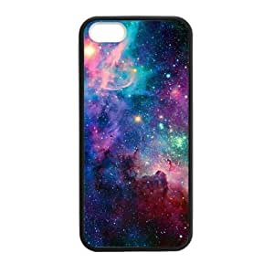 Galaxy Custom Case for iphone 5,5S Tpu (Laser Technology)