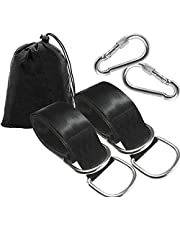 Swing Strap 2PCS Tree Swing can accommodate Max 2000 LB, with Two Heavy-Duty Buckle,Tree Swing Suspension Kits for Swing Sets, Planks and Camping hammocks