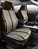 Fia TR48-32 BROWN Custom Fit Front Seat Cover Bucket Seats - Saddle Blanket, (Brown)