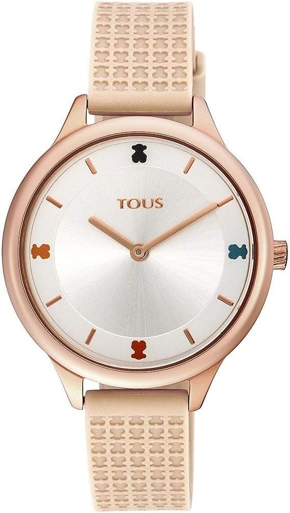 Reloj Tous 900350115 Tartan de Acero IP Rosado con Correa