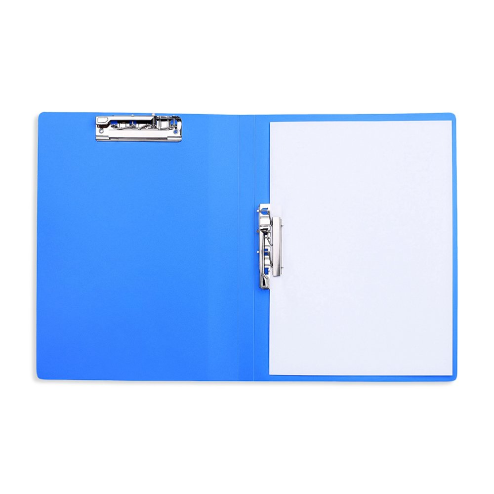 A4 Clamp Binder with 100 Sheet Capacity Double Strong Clip, Pack of 2