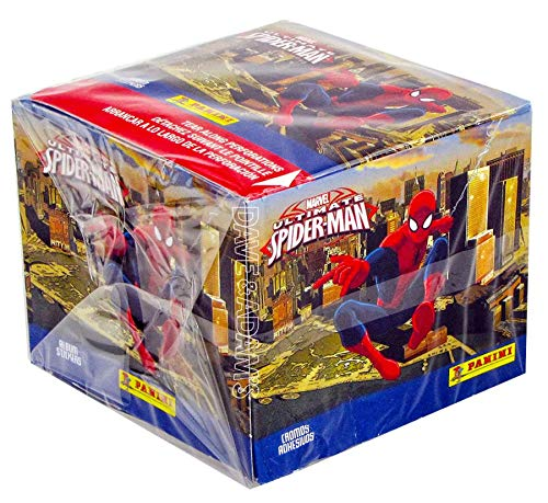 Ultimate Spider-Man Stickers Sealed Box - Trading Cards (Stickers) - 2014 Panini - 50 Pack Box / 7 Stickers per - Stickers Card Trading