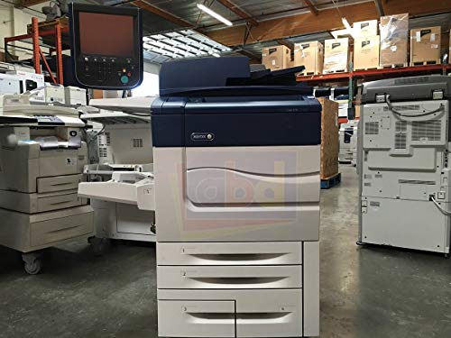 (Xerox Color C70 Digital Laser Production Printer/Copier - 70ppm, Copy, Print, Scan, 4 Trays, Bypass Tray, 497K02420 Offset Catch Tray, R7B Integrated Fiery Color Server)