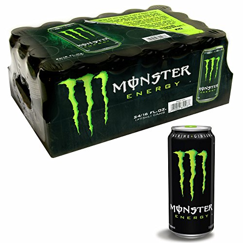 Monster Energy Drink, Original Flavor, 24 ct./16 oz. (pack of 6) by Monster Energy