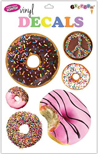 iscream-donuts-sheet-of-repositionable-vinyl-cling-decals