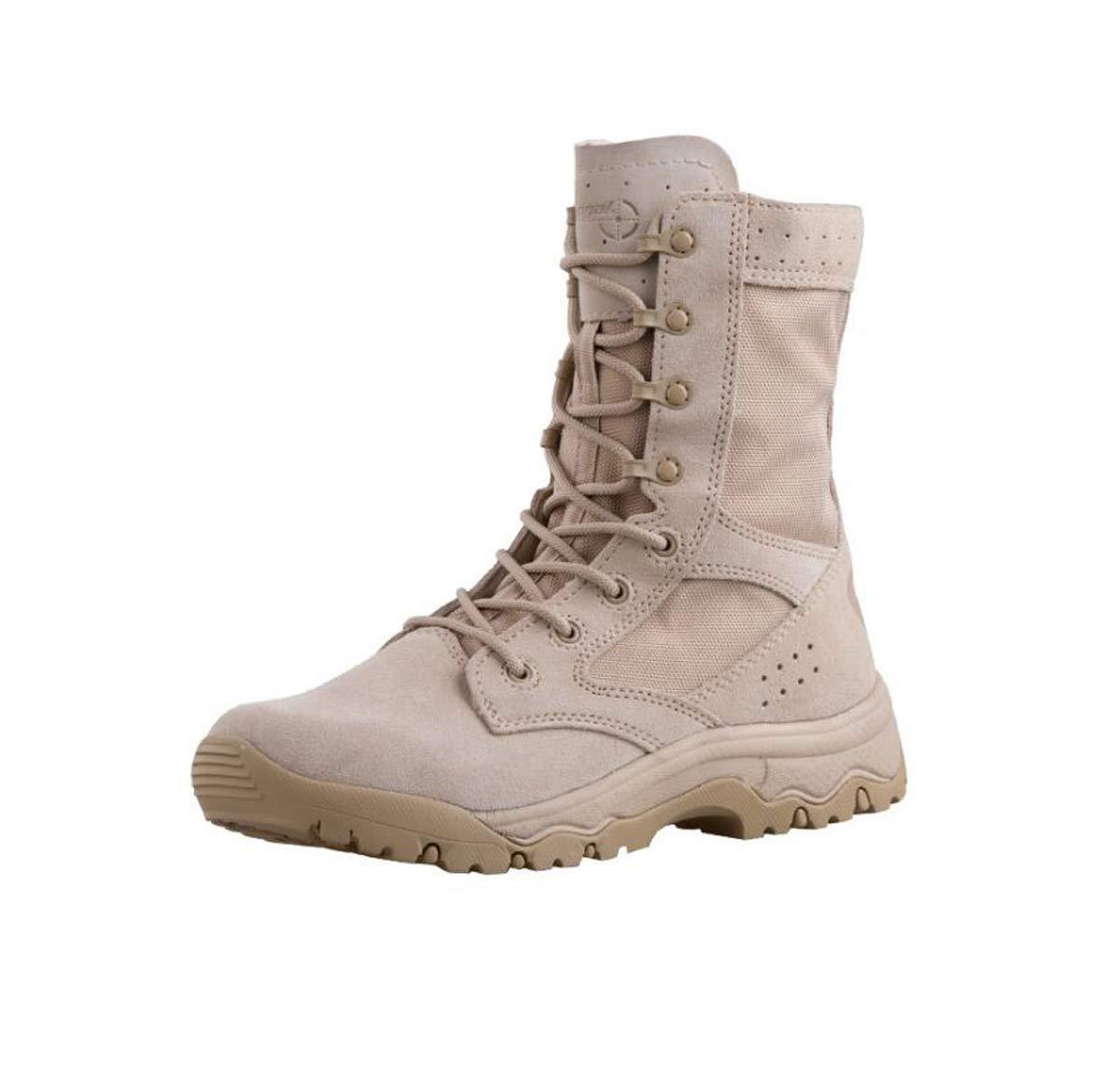 Adong Hanagal  Herren Kletterschuhe Hochhaus Wanderschuhe Jagdschuhe Wasserdichte Schuhe Rutschfeste Atmungsaktive Outdoor-Schuhe,A,45EU