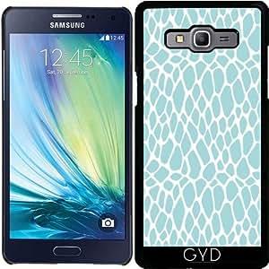 Funda para Samsung Galaxy A5 (SM-A500) - Azul Del Estampado De Animales 03 by Aloke Design